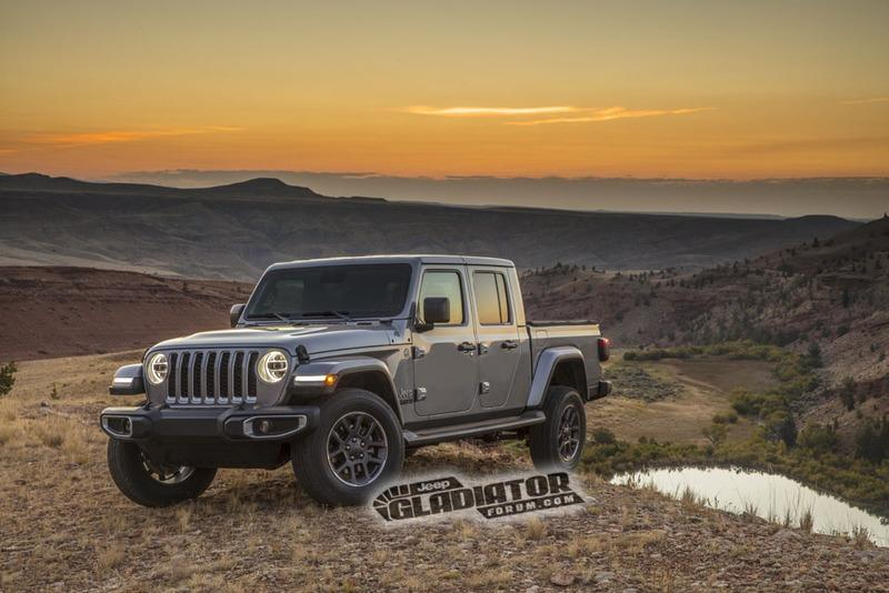 Jeep Gladiator Pickup Truck Leaks Ahead of L.A. Debut