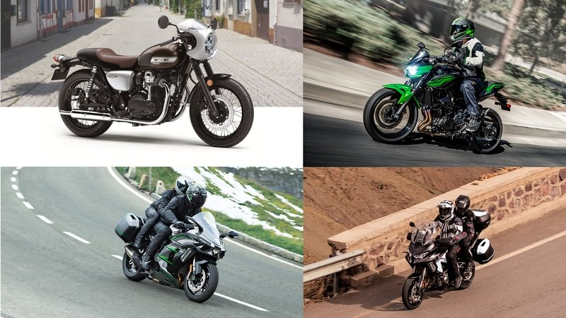 Kawasaki Unveils New Models at 2018 EICMA