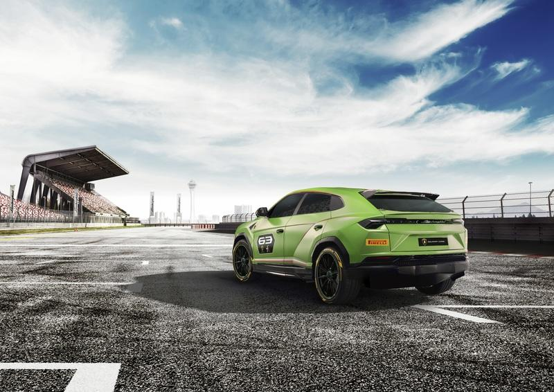Lamborghini builds racing version of Urus; Plans racing series for 2020