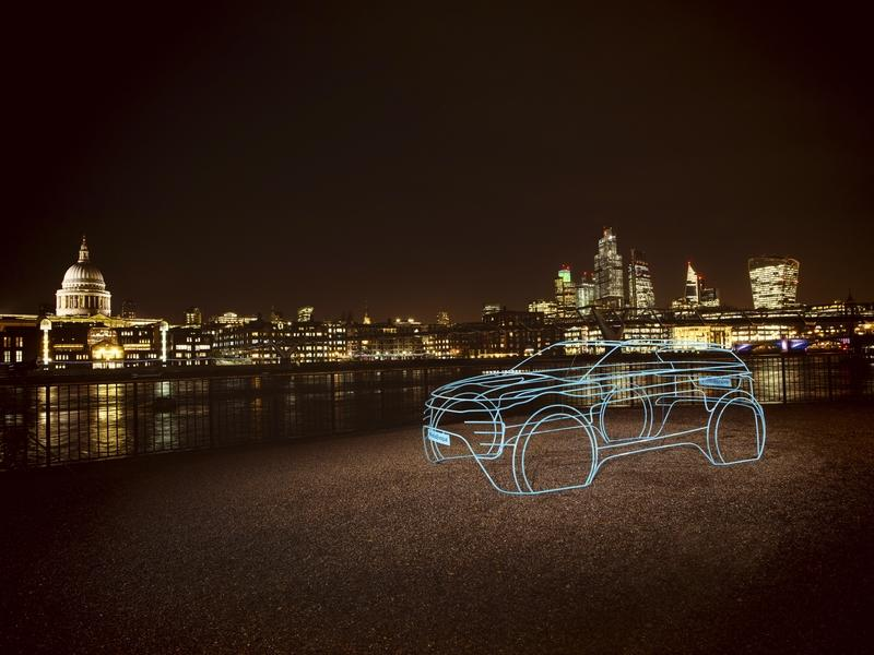 Land Rover Uses Wire Art to Tease the Next-Gen Range Rover Evoque