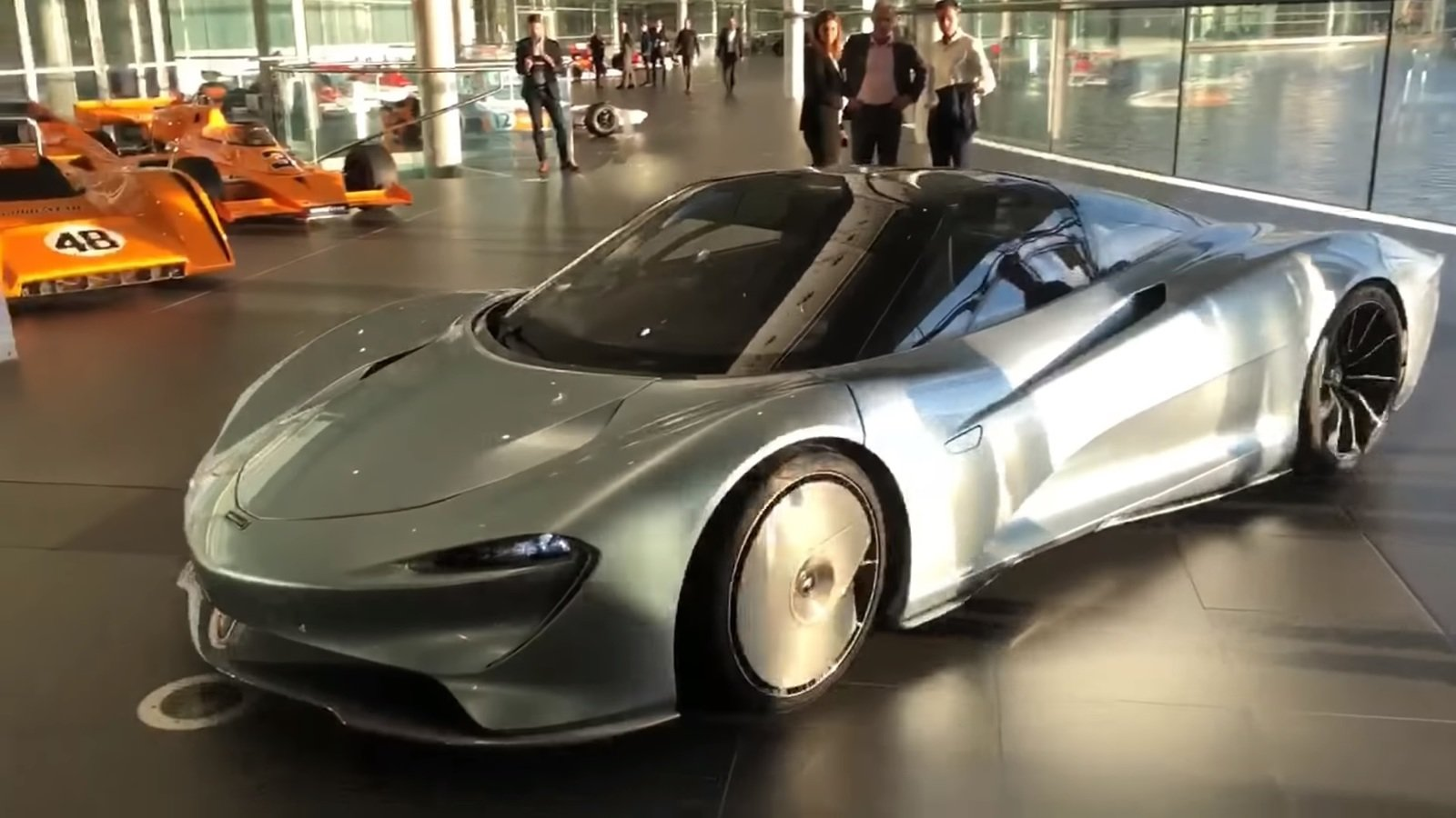 Listen To The 2019 Mclaren Speedtail Purr As It S Moved