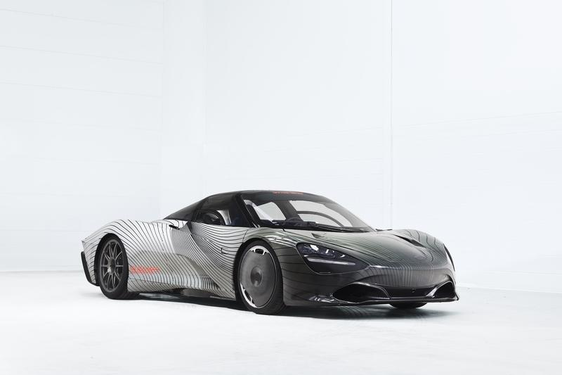 "McLaren Unveils Speedtail Prototype, Names It ""Albert"""
