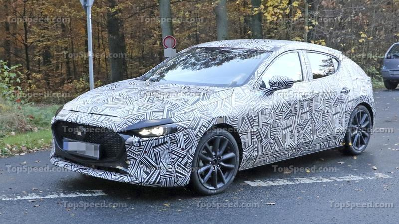 New Mazda Mazda3 caught testing before L.A. Auto Show reveal