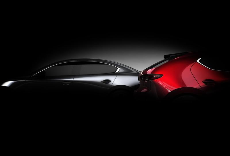 Next-Gen 2019 Mazda3 Headed for L.A. Debut