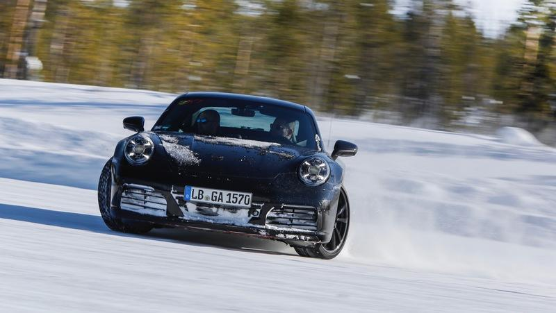 Next-Generation Porsche 911 Tested Under Extreme Conditions
