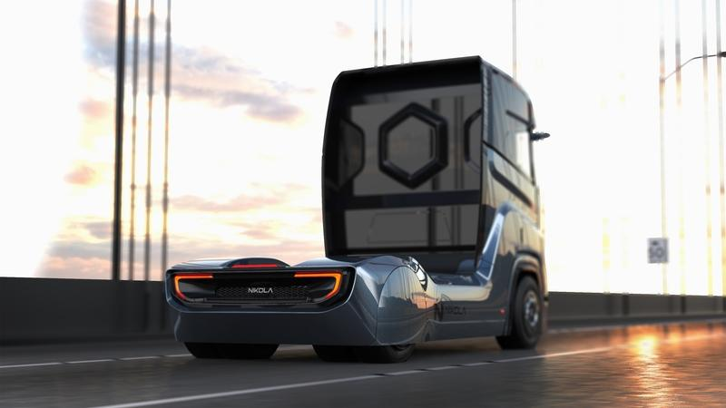 The Nikola Tre Is a Europe-Bound Semi Powered by Hydrogen