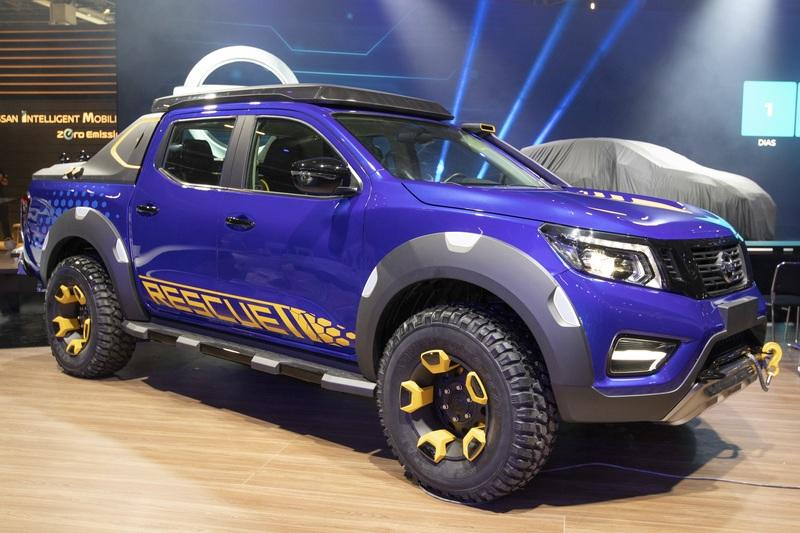 2018 Nissan Frontier Sentinel Concept