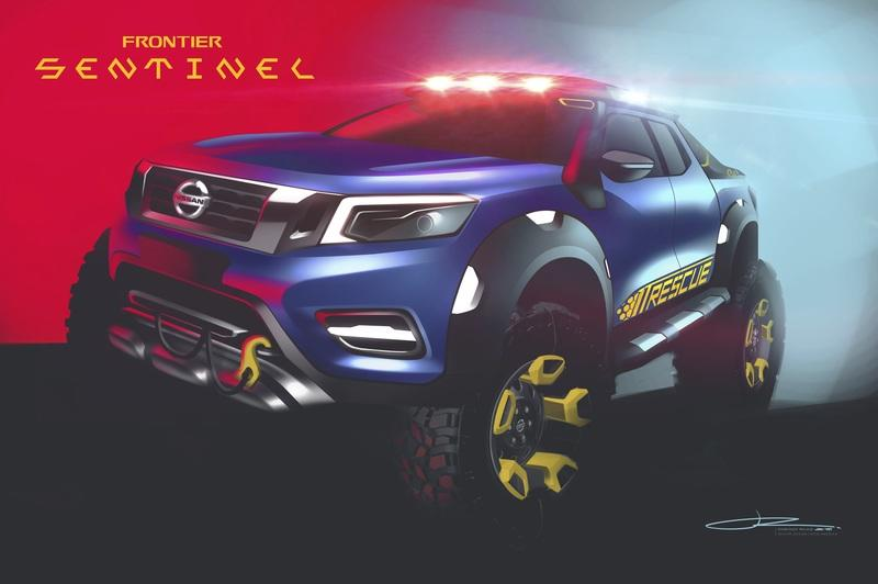 2018 Nissan Frontier Sentinel Concept - image 804796