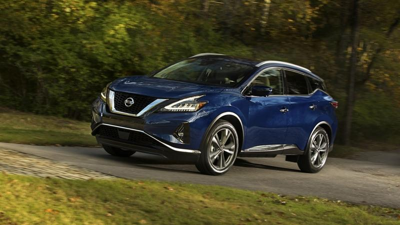Nissan Gives the 2019 Nissan Murano a Wider Grille; Calls it a New Car