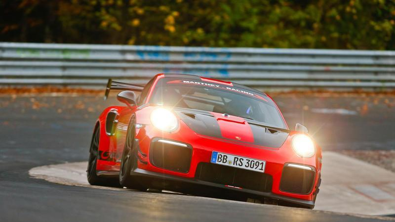 Porsche's GT2 RS MR is the fastest road-legal car around the Nordschleife
