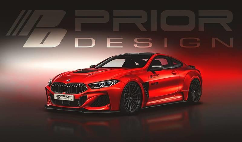 Prior Design's Wide Body Kit for the 2019 BMW 8 Series Takes it to the Next Level