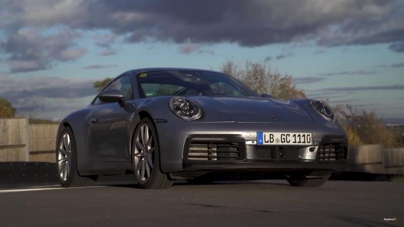 See the New 2020 Porsche 911 992 In Action Before it Debuts!