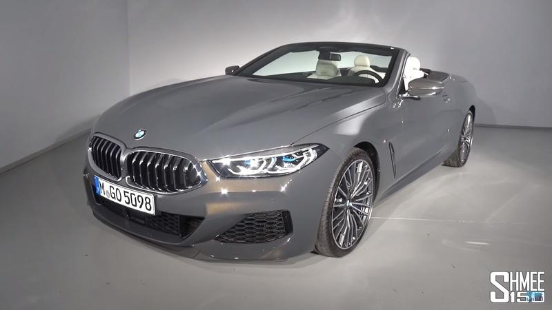 Shmee's Walkaround of the 2019 BMW M850i Convertible Makes Us All Tingly Inside