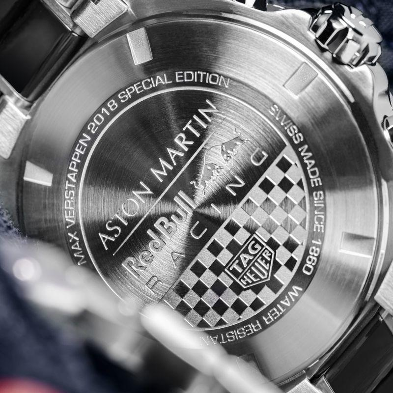 TAG Heuer And Max Verstappen Collaborate To Design A Special-Edition Wristwatch - image 805787