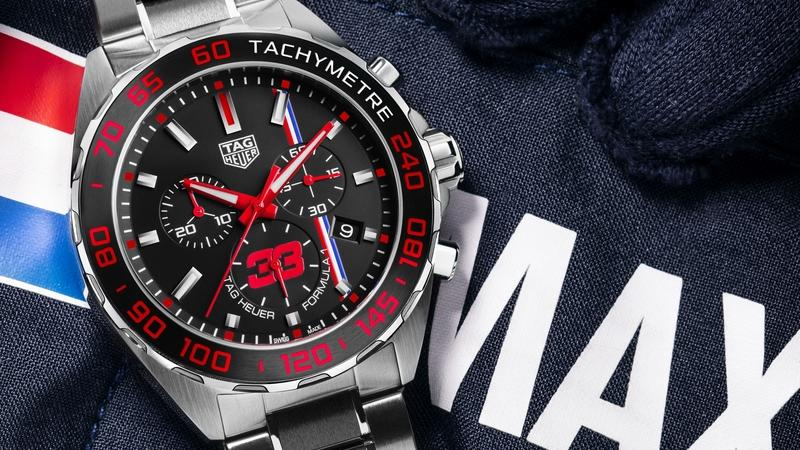 TAG Heuer And Max Verstappen Collaborate To Design A Special-Edition Wristwatch