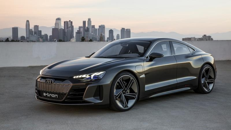 The Audi E-Tron GT Is a Firm Model S Competitor; Can Deliver Repeat Acceleration