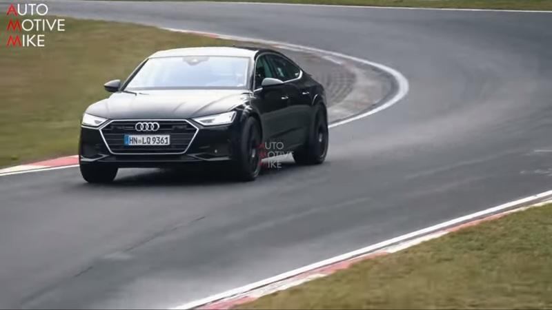 The Audi RS7 Sportback was Spotted Again as It Nears its Date with the Production Line