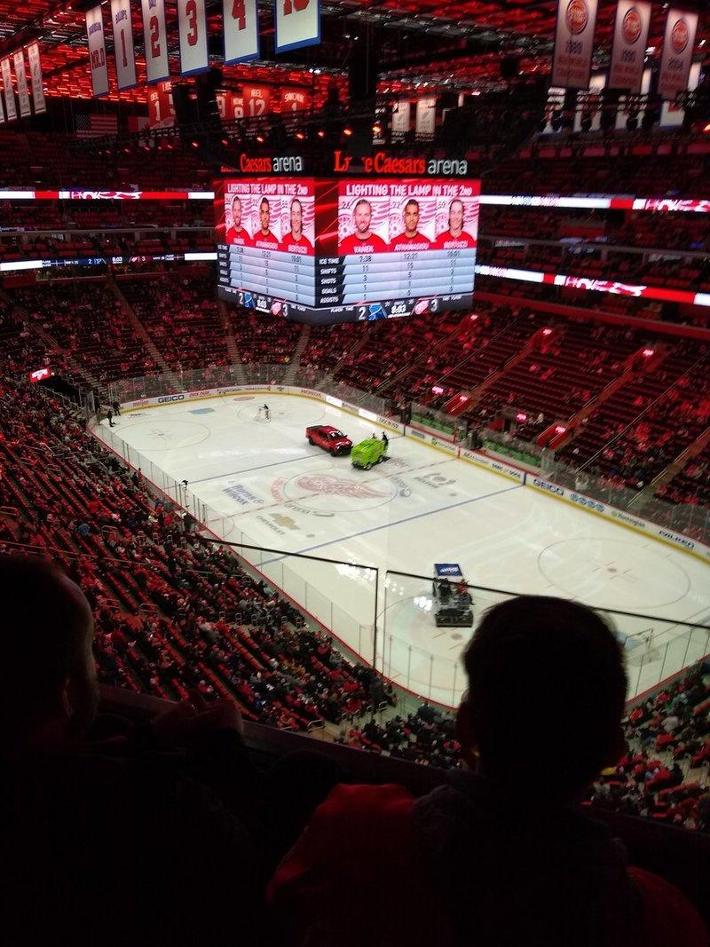 The Chevrolet Silverado Was The Star of a Recent Detroit Red Wings Game For The Wrong Reasons
