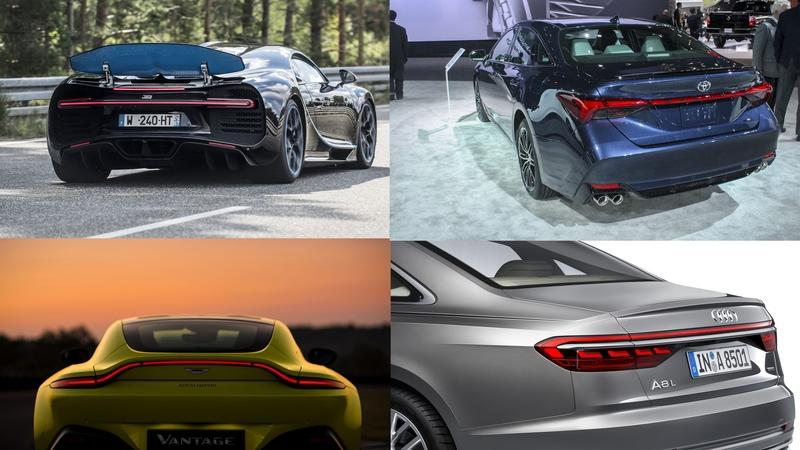 The definitive list of new cars with taillight bars