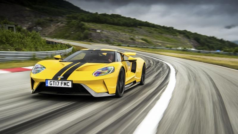 The Ford GT and Mercedes-AMG GT Have the Same Transmission but Ford Charges Double