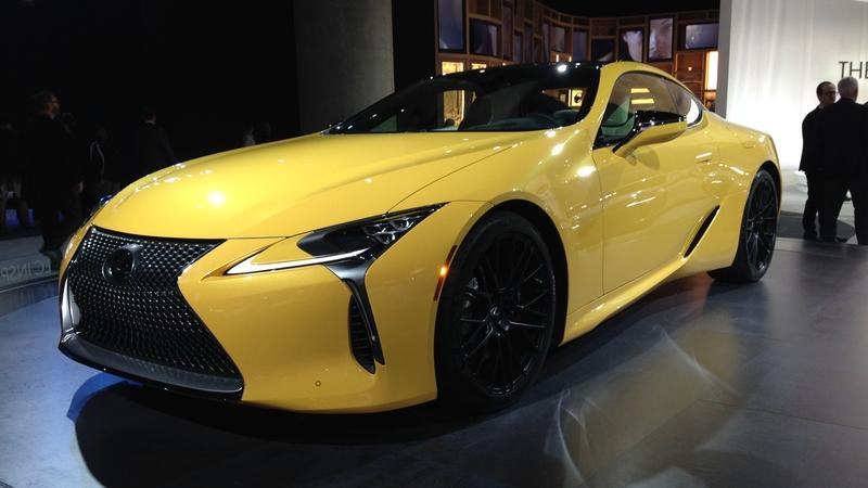 The Lexus LC Inspiration Concept Looks Beautiful in Los Angeles