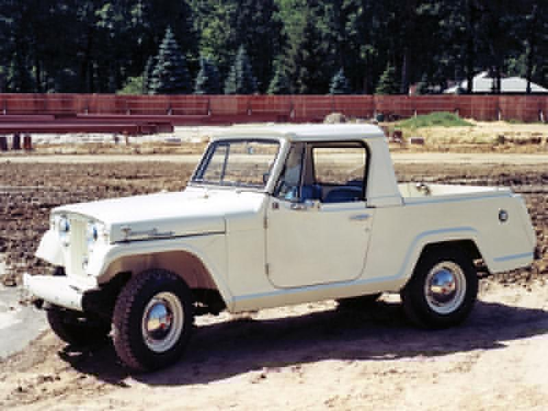 The Long Illustrious History Of Jeep Pickup Trucks Top