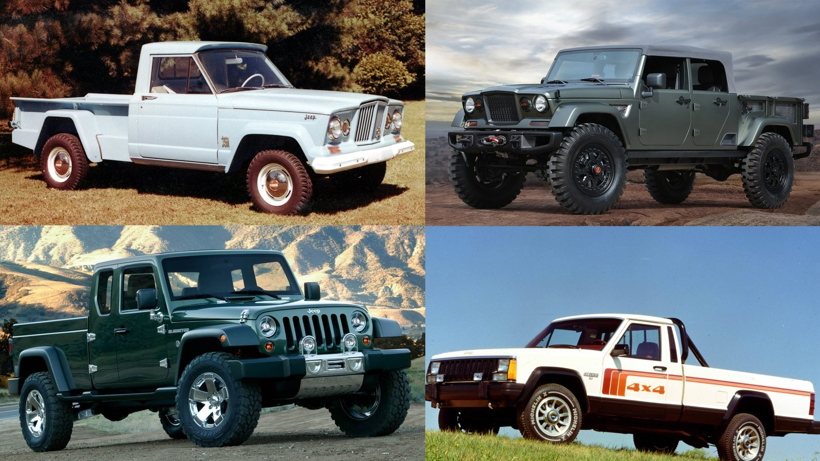 The Long, Illustrious History Of Jeep Pickup Trucks | Top ...