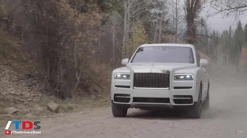 The Rolls Royce Cullinan Really Can Go Off-Road