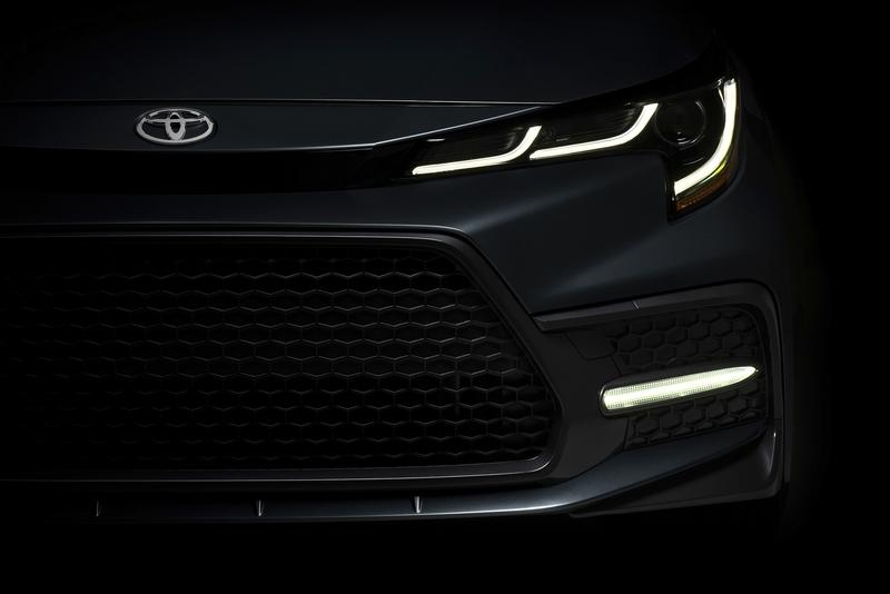 Toyota Brightens Its 2020 Lineup with a Redesigned Corolla That's More Powerful and Safer Than Ever