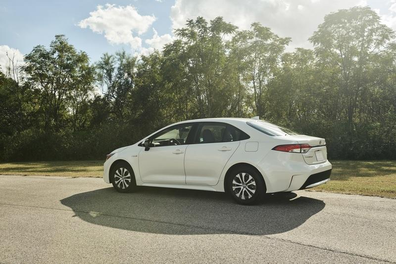 The Toyota Corolla Hybrid Looks Sporty and Delivers 50 MPG