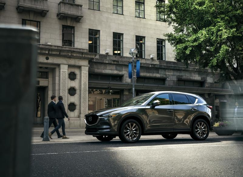 Updated Mazda CX-5 Brings Turbo Engine and Luxury Trim