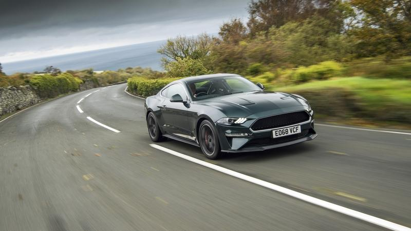 Watch a Ford Mustang Bullitt Rip Across the Isle of Man TT Course: Video