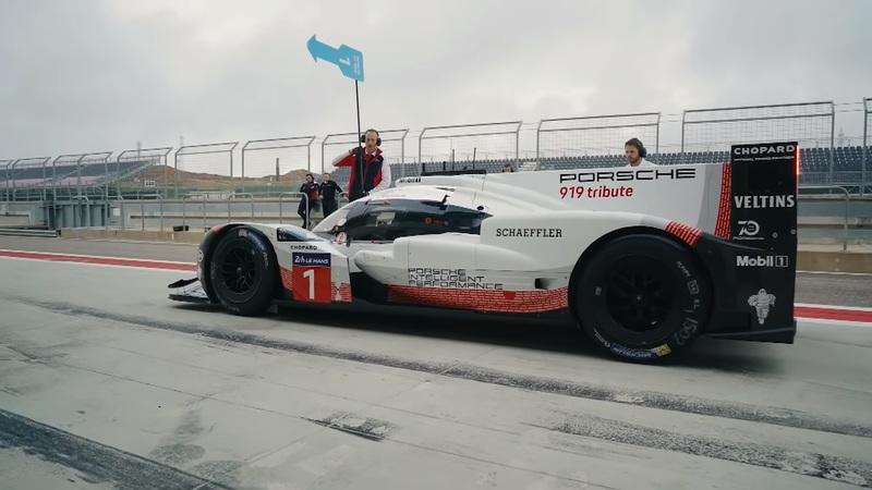 Watch Chris Harris Strap Into the Porsche 919 Tribute: Video