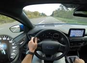 Watch the 2019 Ford Focus ST-Line Make a Top Speed Run on the Autobahn - image 803172