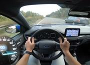 Watch the 2019 Ford Focus ST-Line Make a Top Speed Run on the Autobahn - image 803173