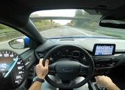Watch the 2019 Ford Focus ST-Line Make a Top Speed Run on the Autobahn - image 803174