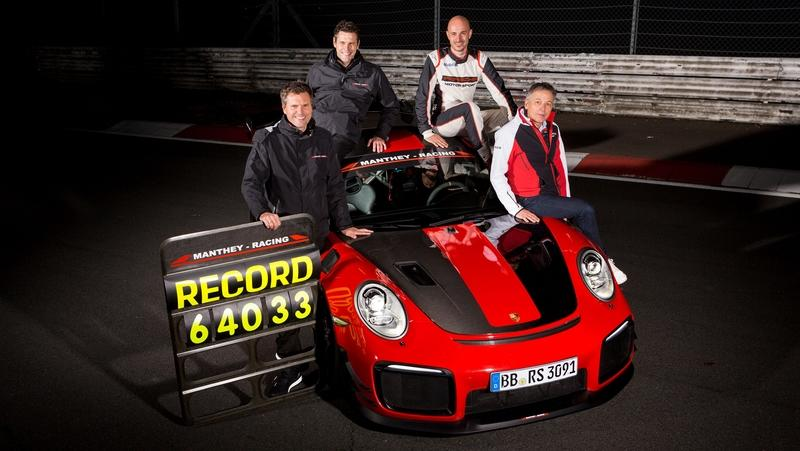 Watch the Porsche 911 GT2 RS MR Become the Fastest Road-Legal Car to Tackle the Nürburgring