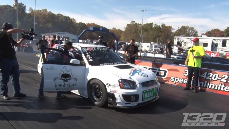 Watch This Subaru WRX With a Six-Speed, AWD, and Four-Cylinder Break Into The 7's: Video