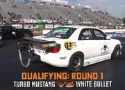 Watch This Subaru WRX With a Six-Speed, AWD, and Four-Cylinder Break Into The 7's: Video - image 804965