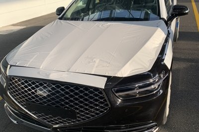 We Didn't Think it was Possible but Leaked Images of the 2019 Genesis G90 Reveals an Even Larger Grille