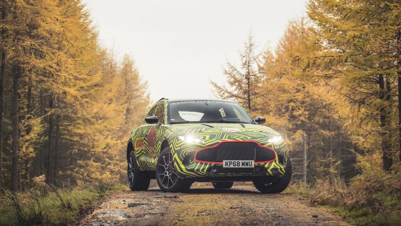 What do we know about the Aston Martin DBX Crossover?