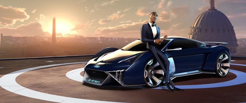 Will Smith Is About to Get Jiggy With Audi's First Animated Concept, the RSQ e-tron