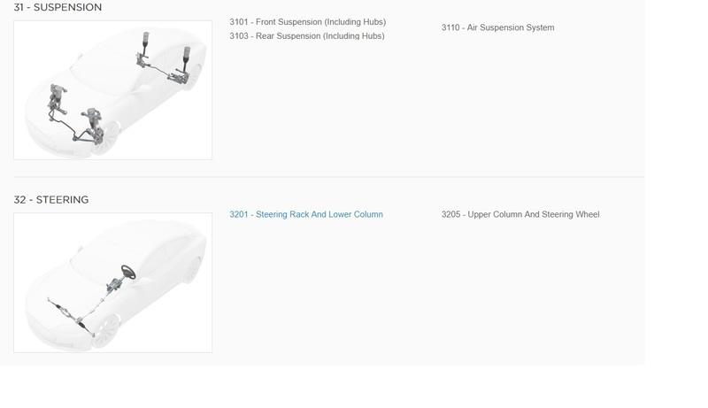 You Can Now Browse Tesla's Parts Catalog for the Model 3, Model S, Model X, Roadster, and Even OEM Tools