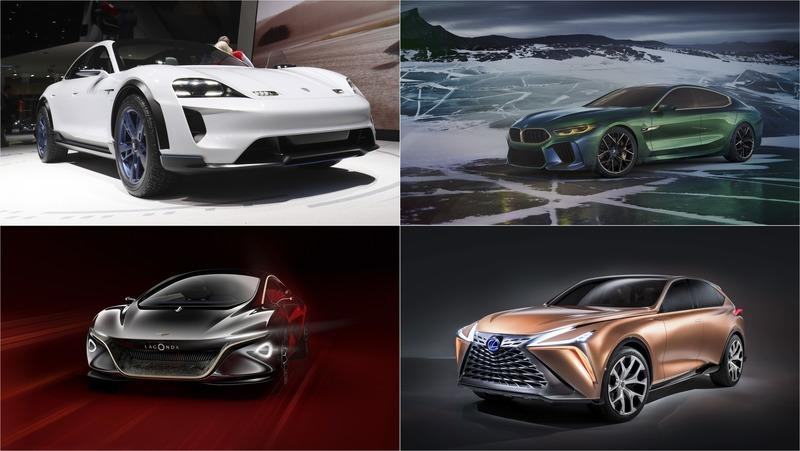 10 of the Coolest Concept Cars from 2018