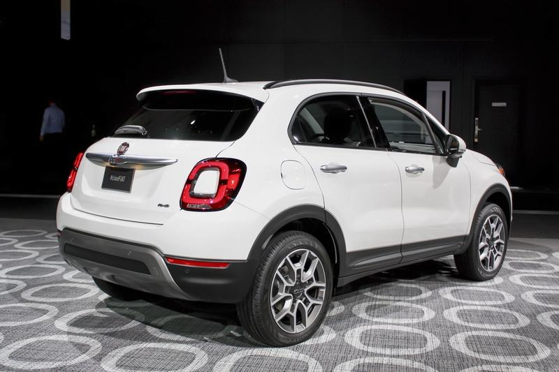 2019 Fiat 500x Top Speed