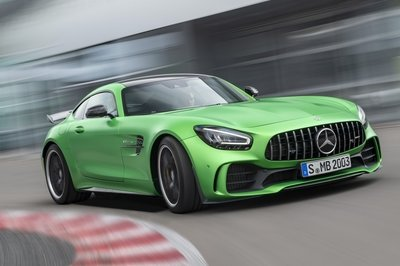 2020 Mercedes Amg Gt Top Speed