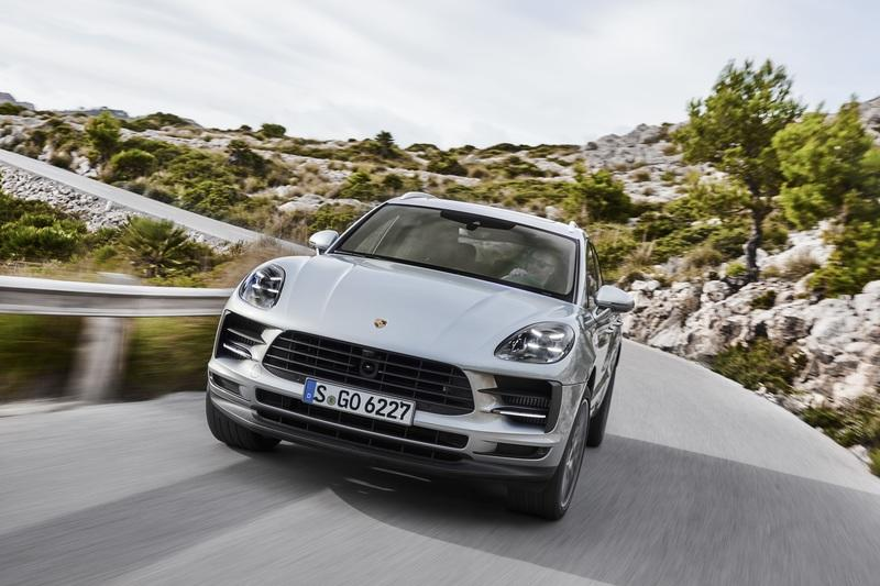 The 2021 Porsche Macan Will Only Be Offered with an All-Electric Drivetrain