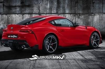 2020 Toyota Supra A90 Images Leaked - Is This It?