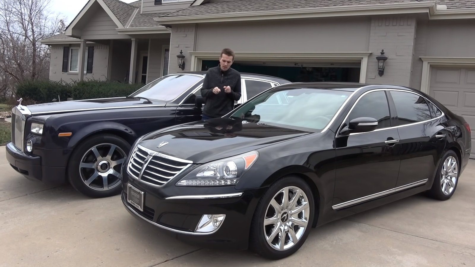 Used Cars Under 15000 >> A $15,000, Second Hand Hyundai Equus Is Rolls-Royce ...