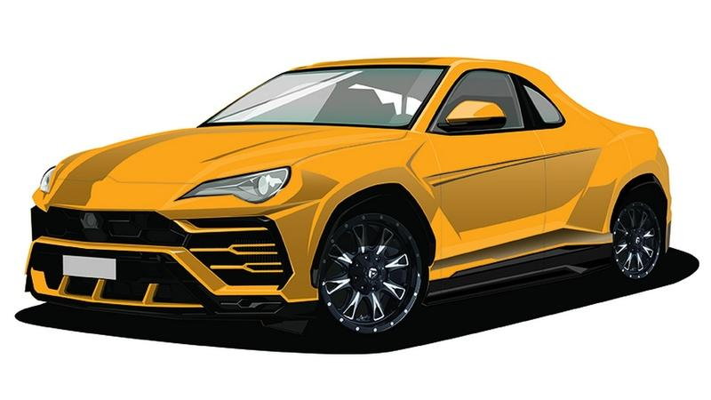 A Japanese-Rooted Automobile College Has Combined Lamborghini and Toyota DNA to Create the Urus 86 Pickup for the Tokyo Auto Salon